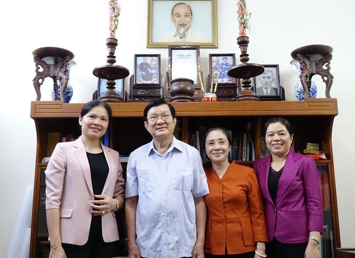 Lãnh đạo Hội LHPN Việt Nam thăm nguyên lãnh đạo Nhà nước, Chính phủ - Ảnh 1.