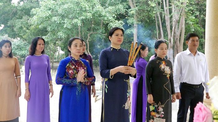 Tỉnh Tây Ninh sẽ cùng Hội LHPN Việt Nam tôn tạo Khu tưởng niệm Hội LHPN Giải phóng miền Nam - Ảnh 1.