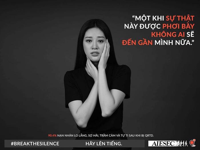 """Hoa hậu Khánh Vân kêu gọi nạn nhân quấy rối tình dục """"Hãy lên tiếng"""" - Ảnh 1."""