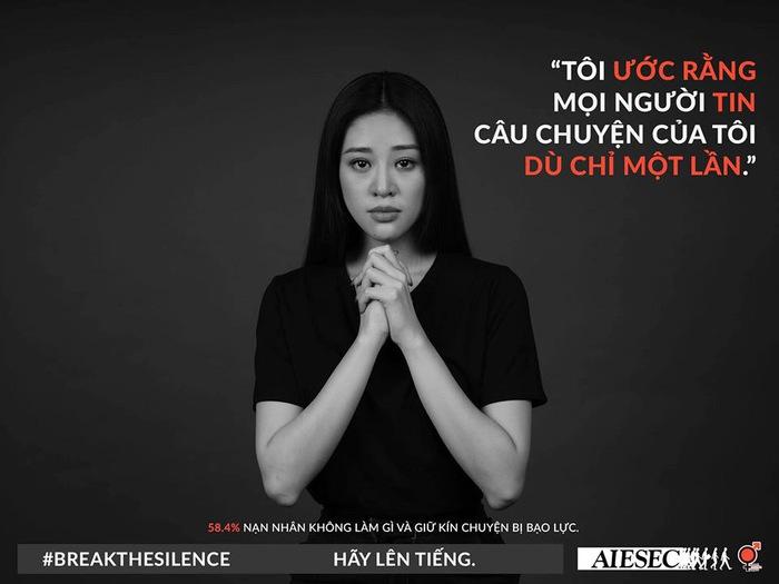 """Hoa hậu Khánh Vân kêu gọi nạn nhân quấy rối tình dục """"Hãy lên tiếng"""" - Ảnh 2."""