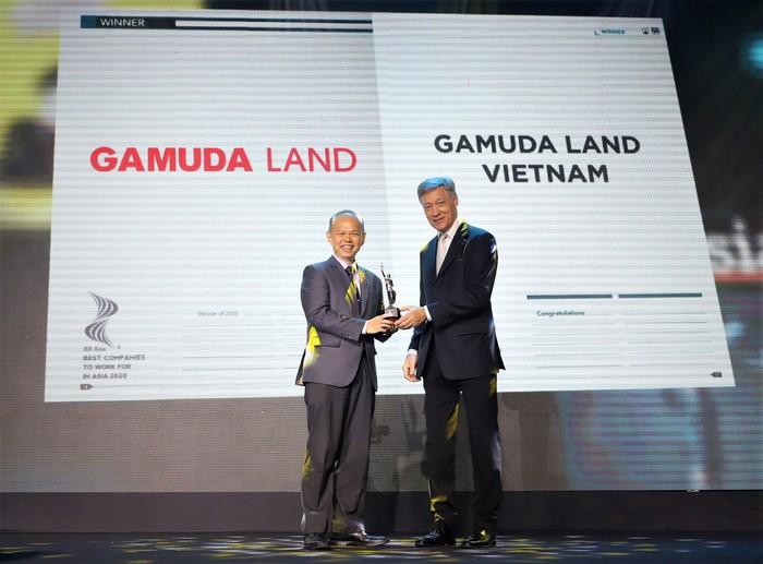 """Gamuda Land được vinh danh """"Nơi làm việc tốt nhất châu Á năm 2020"""" - Ảnh 1."""