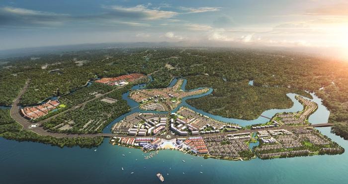 Đô thị sinh thái thông minh Aqua City với quy mô gần 1000ha
