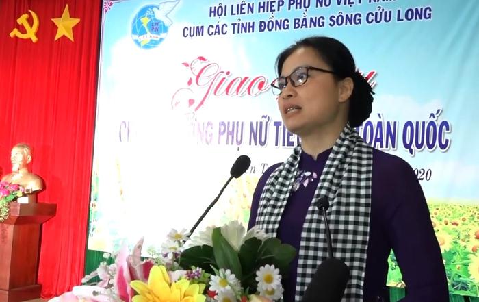 Bí thư Đảng đoàn, Chủ tịch Hội LHPNVN Hà Thị Nga đánh giá cao sự nhiệt tình, tâm huyết của các chi hội trưởng phụ nữ