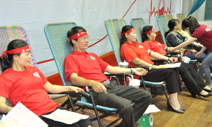 """""""Hành trình Đỏ 2020"""" đã tiếp nhận được gần 33.000 đơn vị máu - Ảnh 2."""