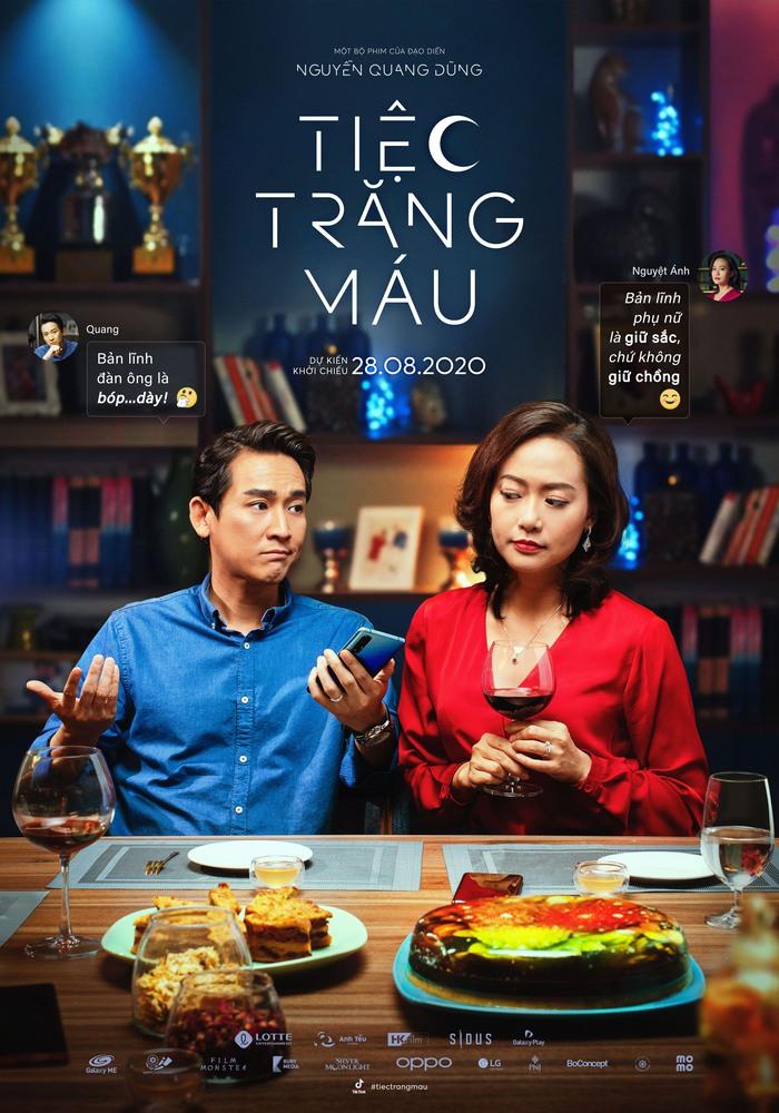 Cặp đôi bác sĩ Ngọc Quang – Nguyệt Ánh  sang trọng và quyền lực do Hứa Vĩ Văn và Hồng Ánh thủ vai