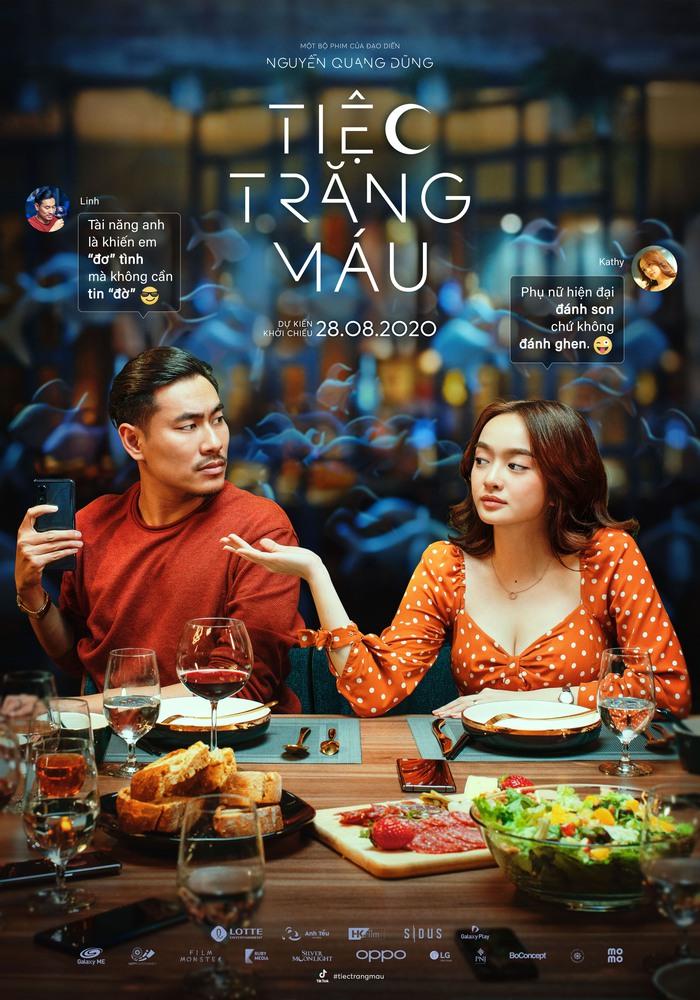 Cặp đôi trẻ đa tình Nhật Linh – Kathy do Kiều Minh Tuấn và Kaity Nguyễn thủ vai