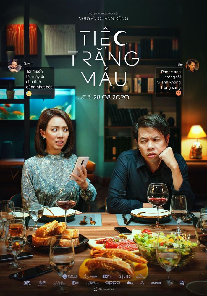 Cặp đôi văn thơ Phan Bất Bình – Thu Quỳnh do Thái Hòa và Thu Trang thủ vai