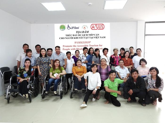 Thúc đẩy du lịch tiếp cận với người khuyết tật - Ảnh 1.