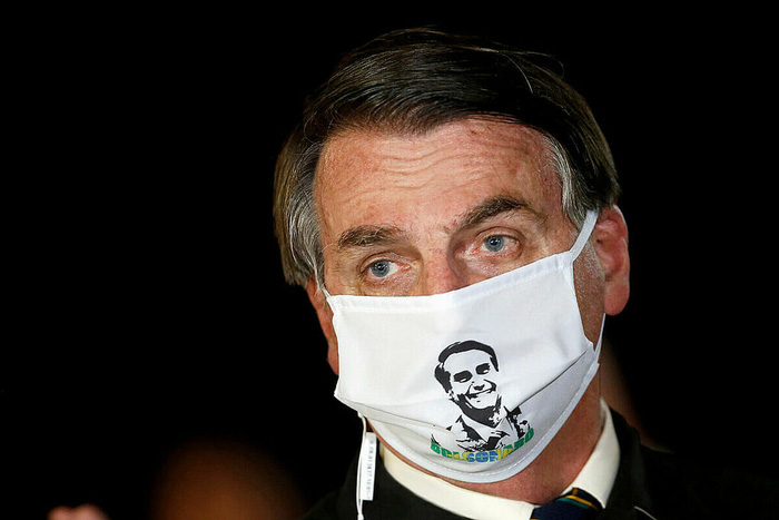 Tổng thống Brazil nhiễm Covid-19 - Ảnh 1.