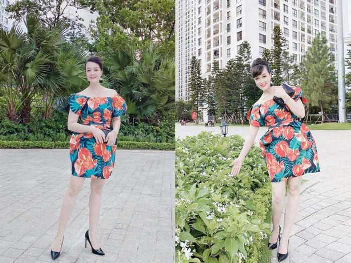 Vân Dung đăng ảnh chân dài như siêu mẫu dù chỉ cao 1m6, không hổ danh từng thi Hoa hậu - Ảnh 2.