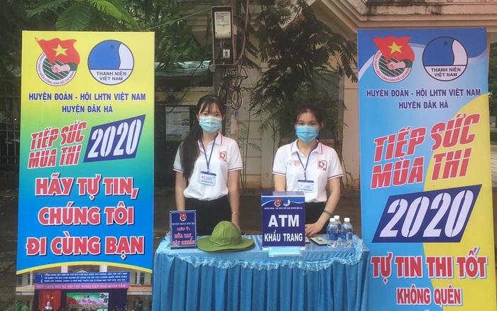 Kon Tum: 36 đội tình nguyện tiếp sức mùa thi