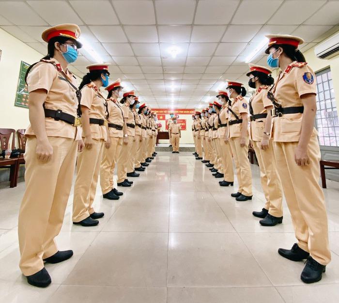 TPHCM sắp ra mắt Đội hình nữ Cảnh sát giao thông dẫn đoàn  - Ảnh 2.