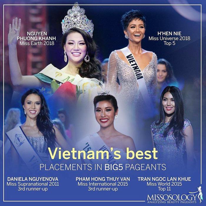5 cô gái Việt thành công nhất tại các cuộc thi sắc đẹp quốc tế trong thập kỷ qua - Ảnh 1.
