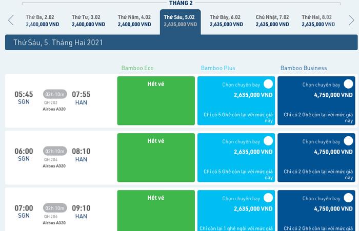 Mở bán vé máy bay Tết Nguyên Đán 2021: Nhiều chặng đã hết vé  - Ảnh 1.