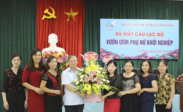 Hỗ trợ phụ nữ Vĩnh Phúc khởi nghiệp, bắt nhịp với yêu cầu phát triển kinh tế  - Ảnh 1.