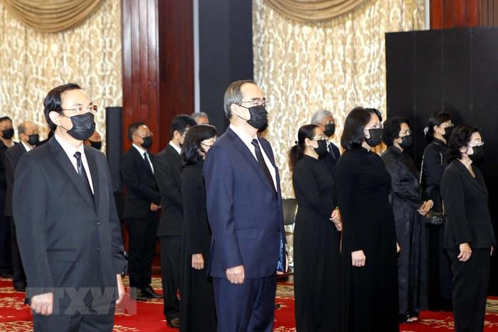Tổ chức trọng thể Lễ truy điệu nguyên Tổng Bí thư Lê Khả Phiêu - Ảnh 7.