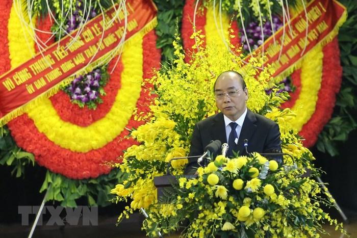 Tổ chức trọng thể Lễ truy điệu nguyên Tổng Bí thư Lê Khả Phiêu - Ảnh 2.