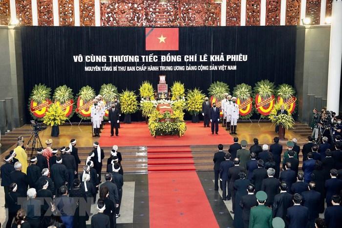 Tổ chức trọng thể Lễ truy điệu nguyên Tổng Bí thư Lê Khả Phiêu - Ảnh 3.