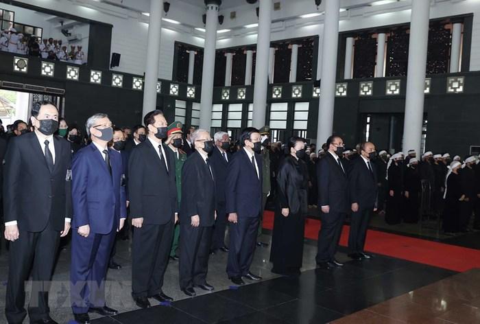 Tổ chức trọng thể Lễ truy điệu nguyên Tổng Bí thư Lê Khả Phiêu - Ảnh 4.