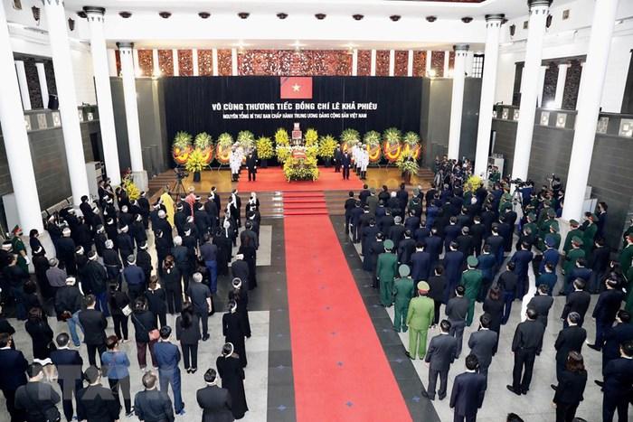 Tổ chức trọng thể Lễ truy điệu nguyên Tổng Bí thư Lê Khả Phiêu - Ảnh 5.