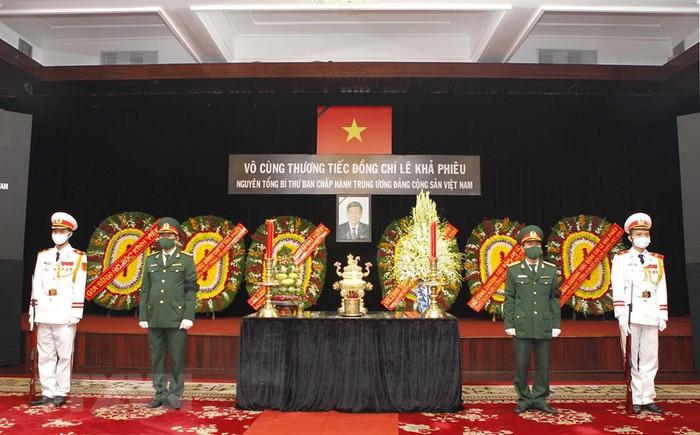 Tổ chức trọng thể Lễ truy điệu nguyên Tổng Bí thư Lê Khả Phiêu - Ảnh 6.