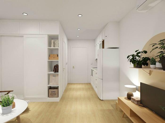Xu hướng thiết kế nội thất hiện đại cho căn hộ 30m2 - Ảnh 10.