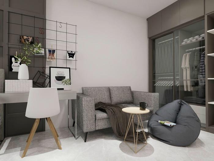 Xu hướng thiết kế nội thất hiện đại cho căn hộ 30m2 - Ảnh 1.