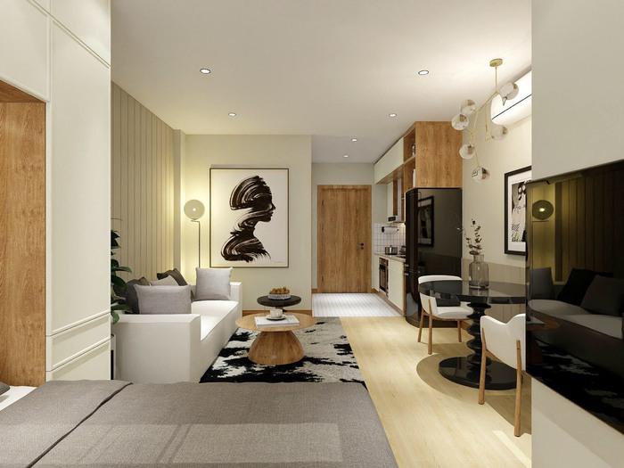 Xu hướng thiết kế nội thất hiện đại cho căn hộ 30m2 - Ảnh 6.