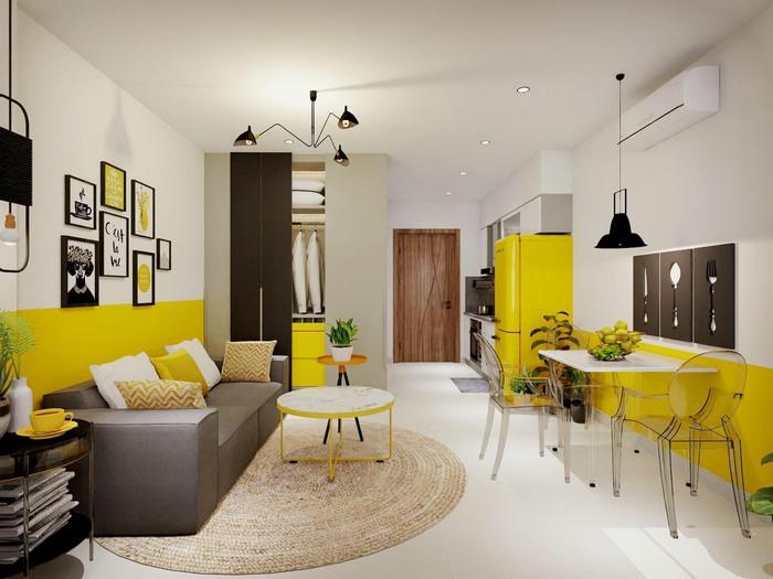 Xu hướng thiết kế nội thất hiện đại cho căn hộ 30m2 - Ảnh 3.