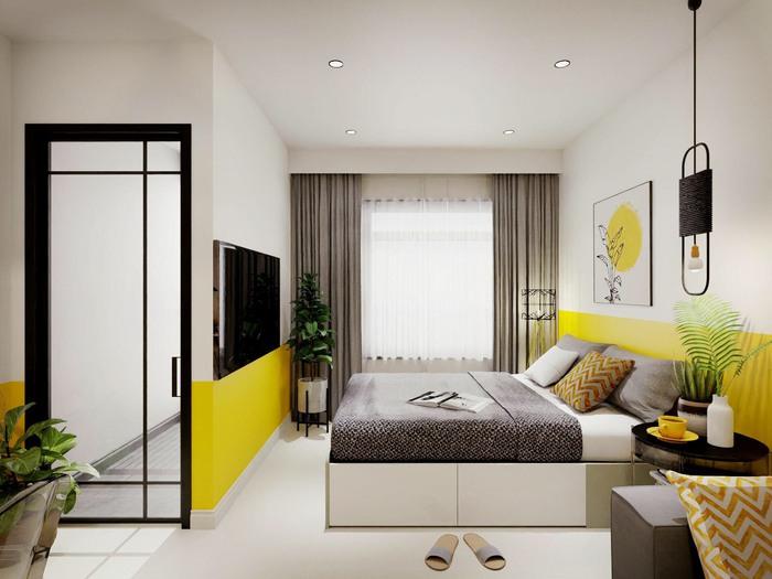 Xu hướng thiết kế nội thất hiện đại cho căn hộ 30m2 - Ảnh 5.