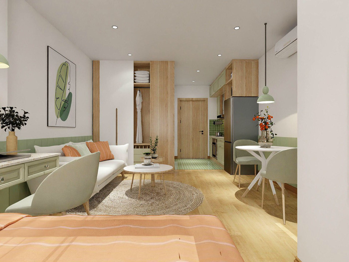Xu hướng thiết kế nội thất hiện đại cho căn hộ 30m2 - Ảnh 8.