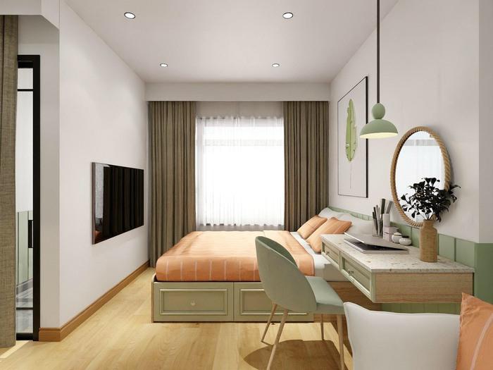 Xu hướng thiết kế nội thất hiện đại cho căn hộ 30m2 - Ảnh 9.