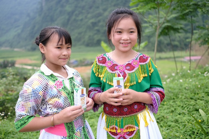 Bên cạnh chương trình hỗ trợ mổ tim cho trẻ em, 13 năm qua Vinamilk còn dành rất nhiều sự quan tâm cho đối tượng trẻ em qua chương trình Quỹ sữa Vươn cao Việt Nam