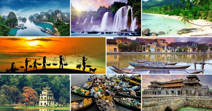 Với cảnh quan thiên nhiên tươi đẹp, con người thân thiện mến khách, Việt Nam luôn là điểm đến hấp dẫn thu hút du khách