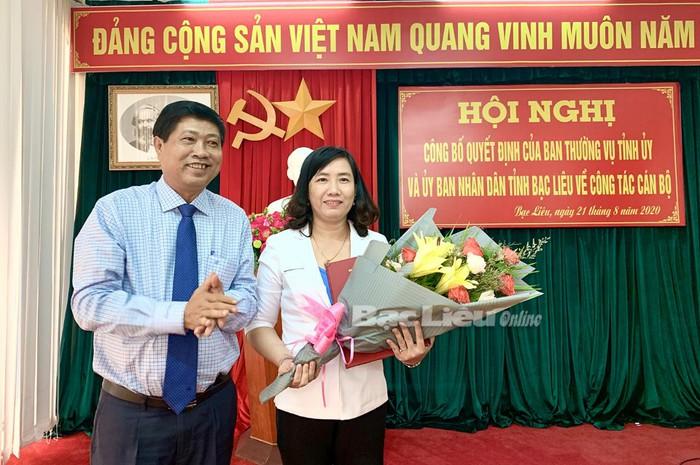 Điều động Chủ tịch Hội LHPN tỉnh Bạc Liêu làm Giám đốc Sở Văn hóa, Thông tin, Thể thao và Du lịch - Ảnh 1.