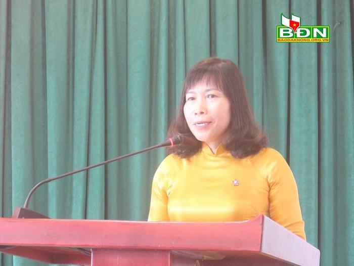 Chủ tịch Hội LHPN tỉnh Đăk Nông được điều động làm Trưởng ban Tuyên giáo Tỉnh ủy - Ảnh 1.