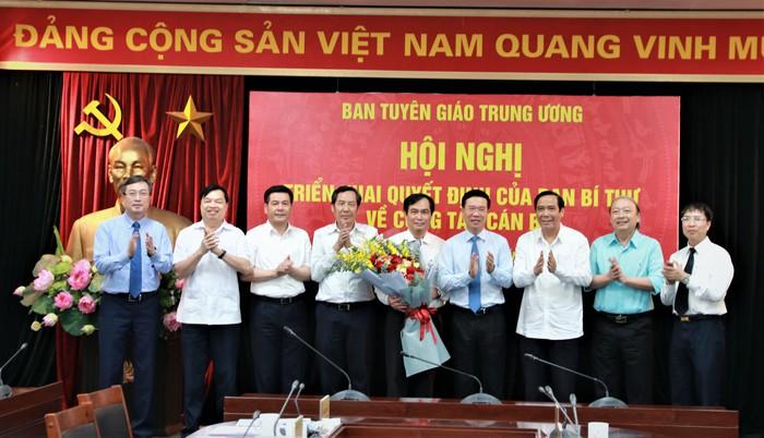Ban Bí thư bổ nhiệm ông Phan Xuân Thủy giữ chức Phó trưởng Ban Tuyên giáo Trung ương - Ảnh 1.