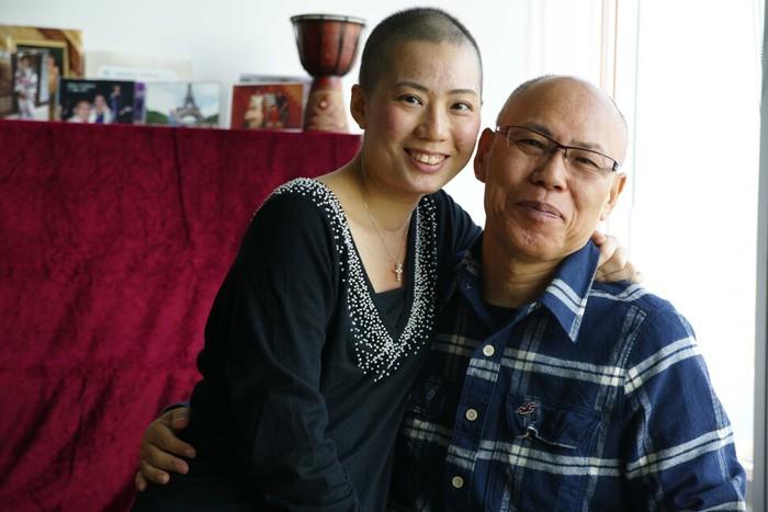Teresa Tam và chồng, Akio Nishida, tại Hong Kong năm 2011. Ảnh: Teresa Tam