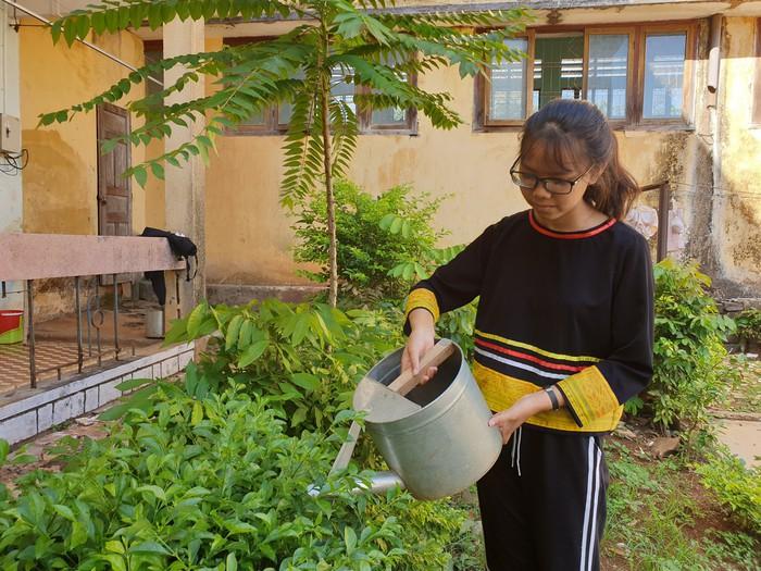 Kỳ thi THPT quốc gia: Cô học trò khuyết tật người Jrai với ước mơ làm cô giáo - Ảnh 2.