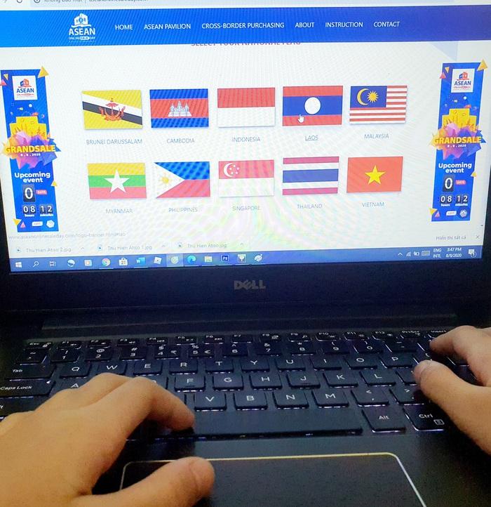 Ngày mua sắm trực tuyến ASEAN lần đầu tiên tổ chức với nhiều ưu đãi đặc biệt - Ảnh 3.