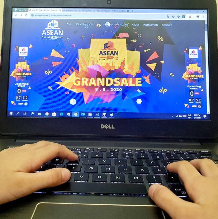 Ngày mua sắm trực tuyến ASEAN lần đầu tiên tổ chức với nhiều ưu đãi đặc biệt - Ảnh 1.