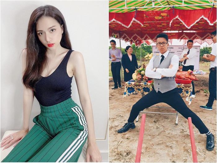 Không cần nhiều lời, Hoa hậu Hương Giang ngay lập tức cho thấy cô không làm ngơ trước thông tin liên quan đến bạn trai mới.