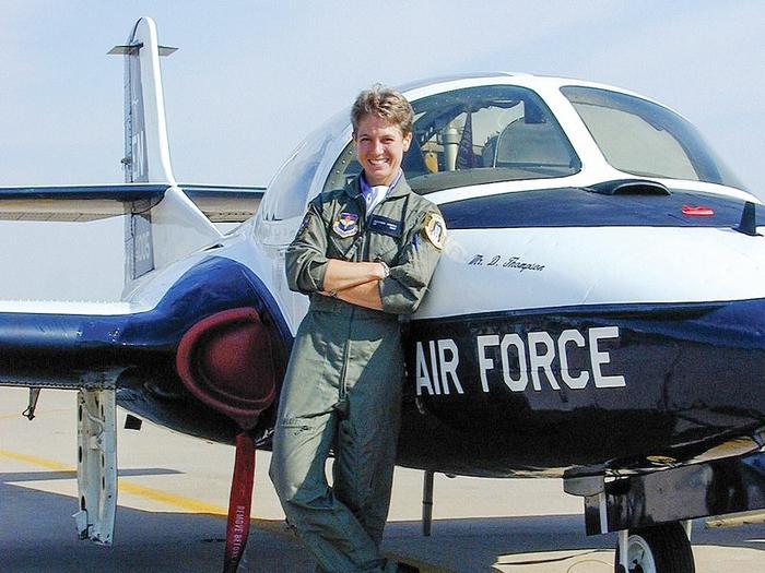 Nữ phi công cảm tử chống khủng bố ngày 11/9 - Ảnh 1.