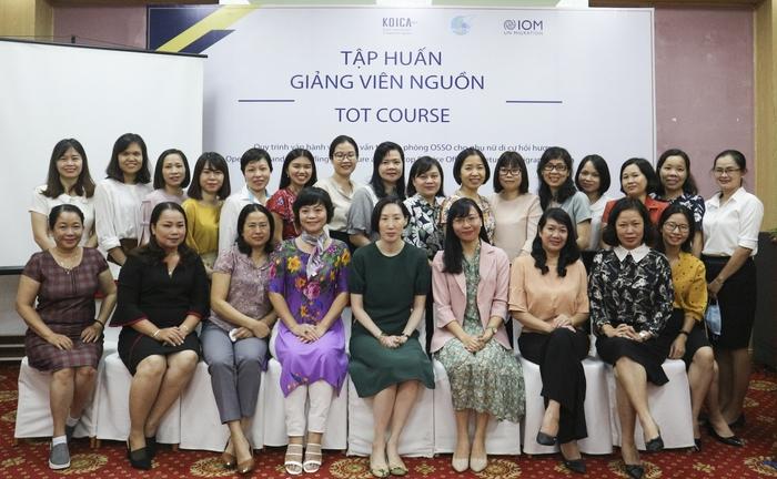 Dự án tăng cường hỗ trợ tái hoà nhập bền vững cho phụ nữ di cư hồi hương - Ảnh 2.