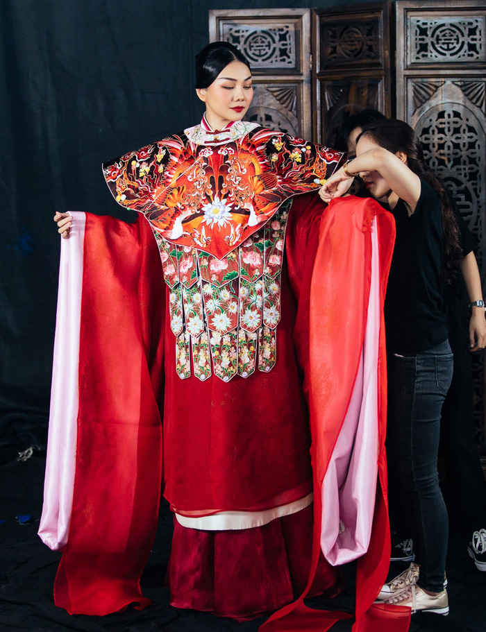 Thanh Hằng rạng ngời khí chất trong vai Dương Vân Nga - Ảnh 4.