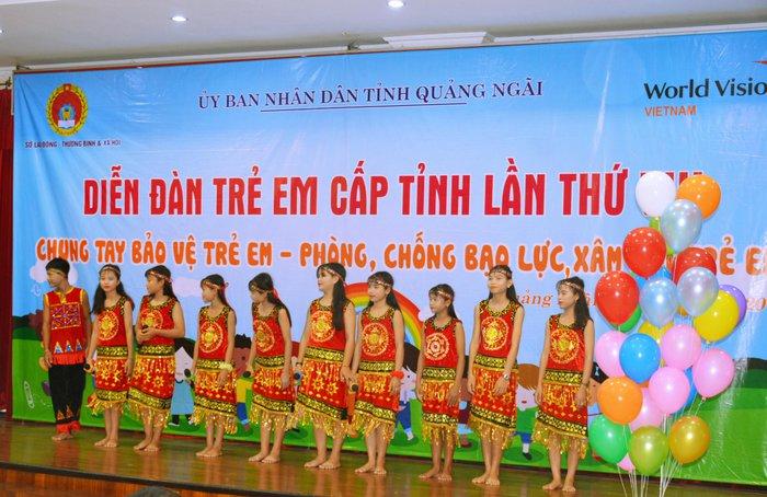 Quảng Ngãi tổ chức diễn đàn trẻ em cấp tỉnh lần thứ VIII - Ảnh 1.