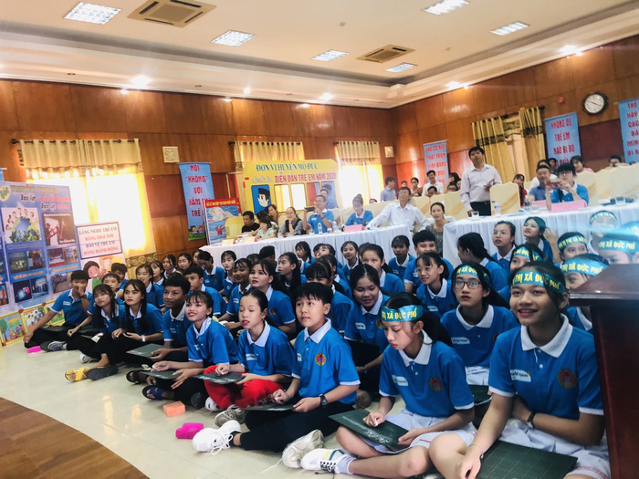 Quảng Ngãi tổ chức diễn đàn trẻ em cấp tỉnh lần thứ VIII - Ảnh 3.