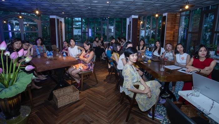 """Bữa tối đặc biệt kết nối các nữ startup founder, cùng nhau vượt """"bão"""" Covid-19  - Ảnh 1."""