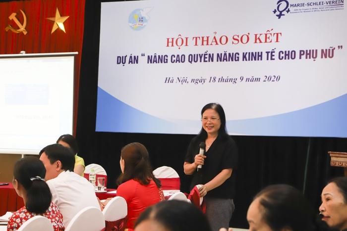 """""""Nâng cao quyền năng kinh tế cho phụ nữ"""" tiếp sức cho các HTX phát triển - Ảnh 4."""