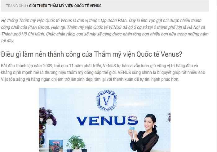 Thêm khách hàng 'ngậm trái đắng' khi làm đẹp ở Thẩm mỹ viện Quốc tế Venus - Ảnh 2.